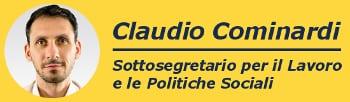 claudio cominardi logo sottosegretario 350.M